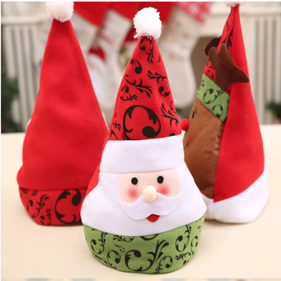 Wholesales Good Quality Cute Children Christmas Hat Santa Hat Christmas Cap for Gifts Party Hat pictures & photos