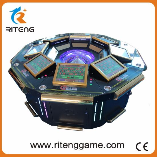 Coin Operated Slot Gambling Electronic Roulette Arcade Machine pictures & photos