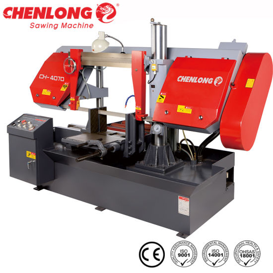 Indispensable Tool Semi-auto Band Sawing Machine from Chenlong CH-4070