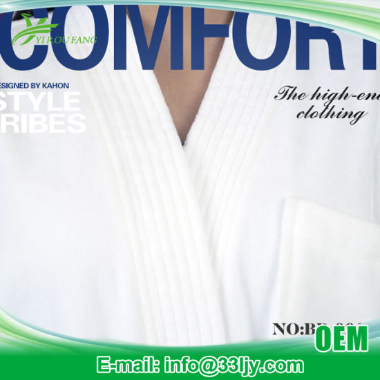 OEM Apartment Cheap Bath Robe pictures & photos