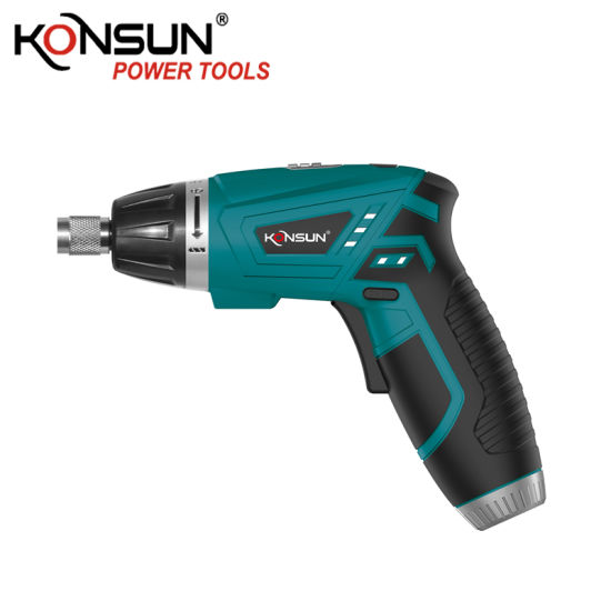 Konsun 3.6V with Light Portable Cordless Screwdriver Kx71014 pictures & photos