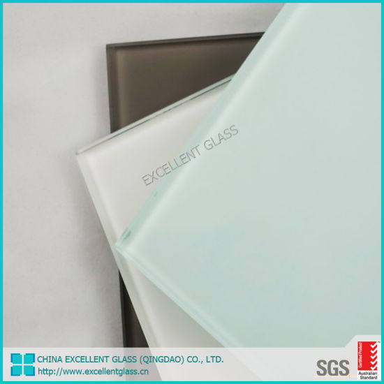 4mm White Ultra White Painted Lacquered Glass