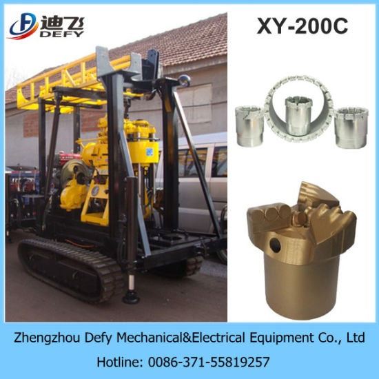 150m-200m Wholesale Price Small Borehole Geological Rock Core Water Well Drilling Rig Machine