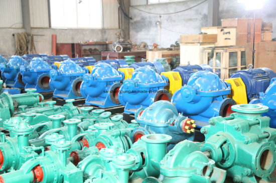 Large Flow High Pressure Single Stage Double Suction Split Case Pump pictures & photos