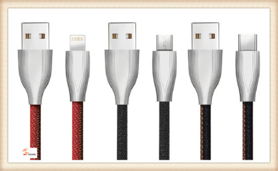 Zinc Alloy iPhone Charging Cable