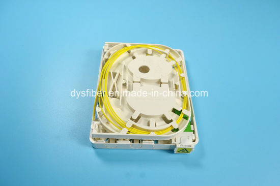 FTTH Mini Terminal Box, 2 Core, with Sc Shutter Adapter pictures & photos