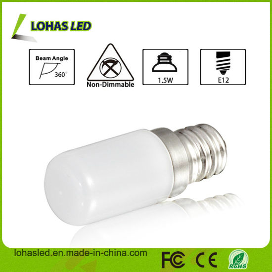 Night Light S6 E12 1.5W Soft White LED Night Bulb with Ce RoHS UL pictures & photos