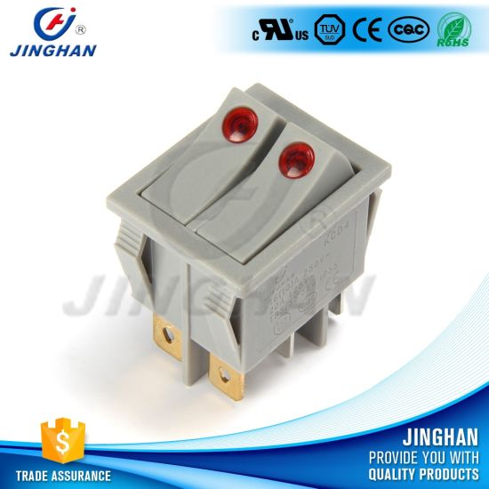 Dpdt The Boat Rocker Switch