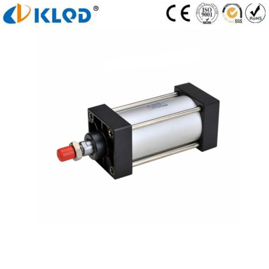 Single acting cylinder and double acting cylinder