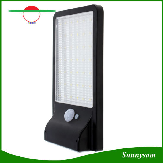 Outdoor 42 LEDs Solar Power Light Waterproof PIR Motion Sensor 3 Mode Security LED Wall Lamp for Garden Pathway Balcony Yard pictures & photos