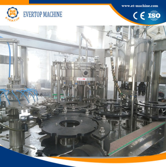 Screen Touch Glass Bottle Filling Machine for Beverage Factory Price pictures & photos