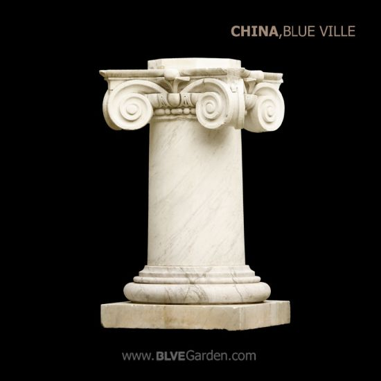 Factory Hand Carved Round Hollow Marble Column Mcy-07