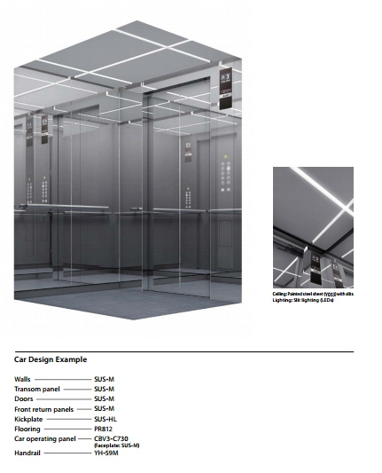 Compact Machine Room Elevator pictures & photos