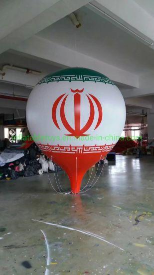 Helium Inflatable Water Drop Balloon Flying Advertising Brand Balloon