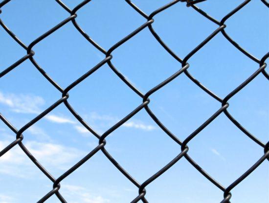 Galvanized Diamond Chain Link Fence /Diamond Shape Weave Wire Mesh
