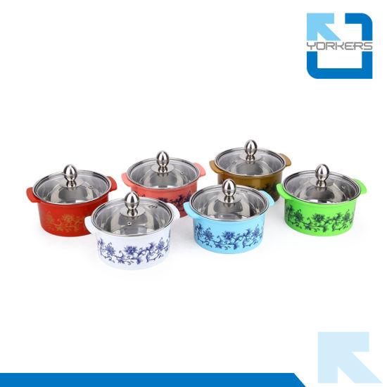 Nice Quality Colourful Stainless Steel Mini Shabu-Shabu Hot Pot