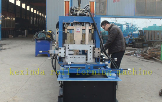 Kexinda CZ Automatic Changeable Purlin Forming Machine pictures & photos