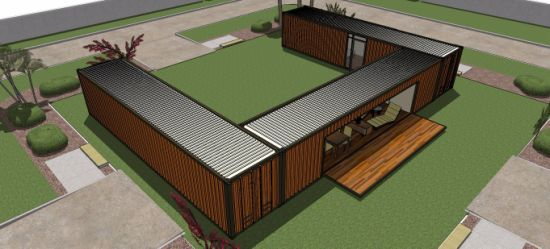 3 Unites 40FT Prefabricated and Mobile Shipping Container House Near The Beach & China 3 Unites 40FT Prefabricated and Mobile Shipping Container ...