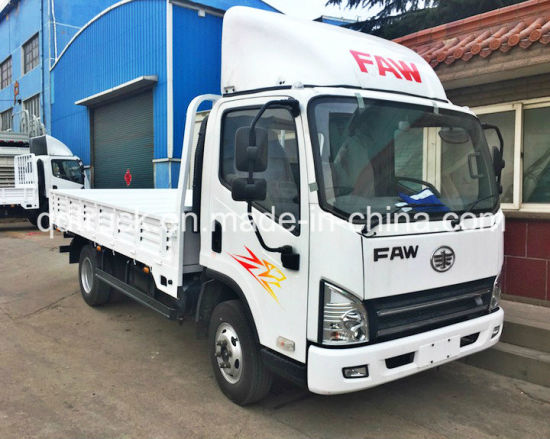 5 Ton China Cargo Truck FAW 4X2 Light Truck pictures & photos