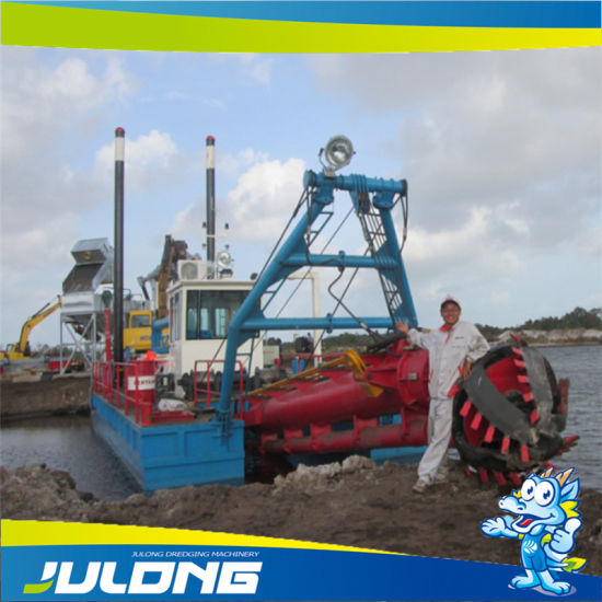 River Use Hydraulic Suction Sand Dredger Machine