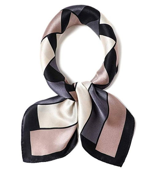 2019 Wholesale Fashion Customized Design Print Lady Silk Scarf