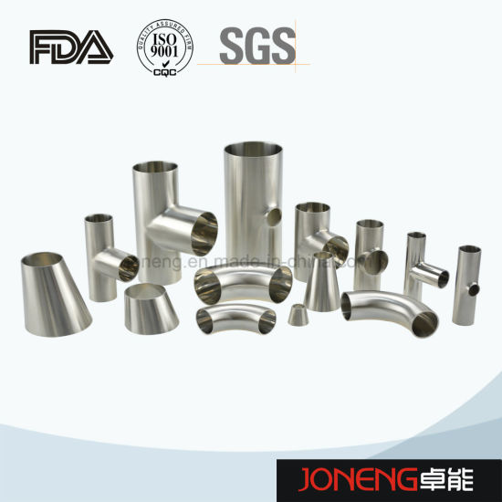 Stainless Steel Hygienic Welded Elbow Pipe Fitting (JN-FT1002)