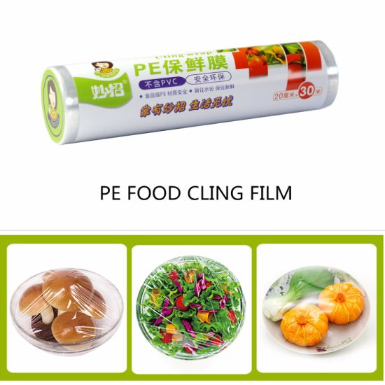 Eco-Friendly Plastic Stretch Cling Food Wrap Film pictures & photos