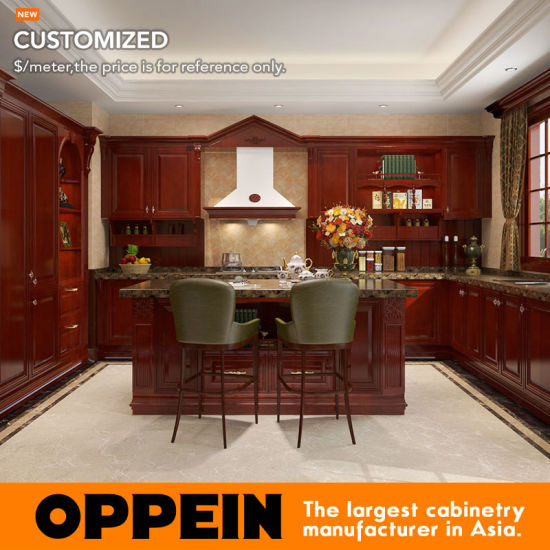 customized kitchen cabinets. Simple Customized Oppein Antique E1 Europe Standard Customized Kitchen Cabinets From China  OP16S06 Intended
