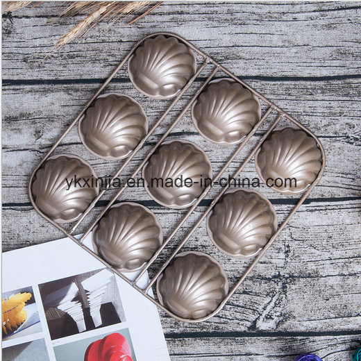 Banana Shape Shell Carbon Steel Non-Stick 6cup Muffin Pan 9hole Bakeware pictures & photos
