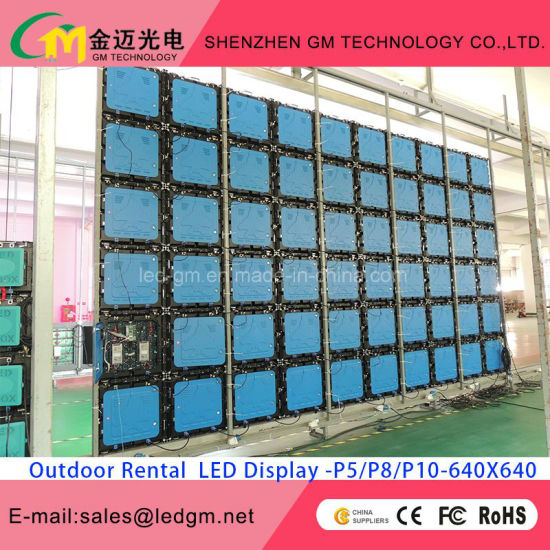 Hot Sale Outdoor Full Color Digital LED Display/Screen for Rental pictures & photos