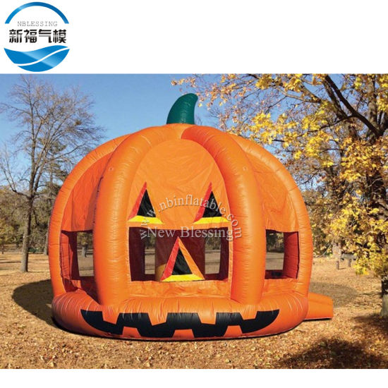 2019 Holiday Inflatable Halloween Pumpkin Bouncer Bounce House for Sale pictures & photos