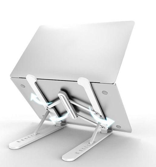 Foldable Extension Notebook Laptop Stand Light Plastic Laptop Holder