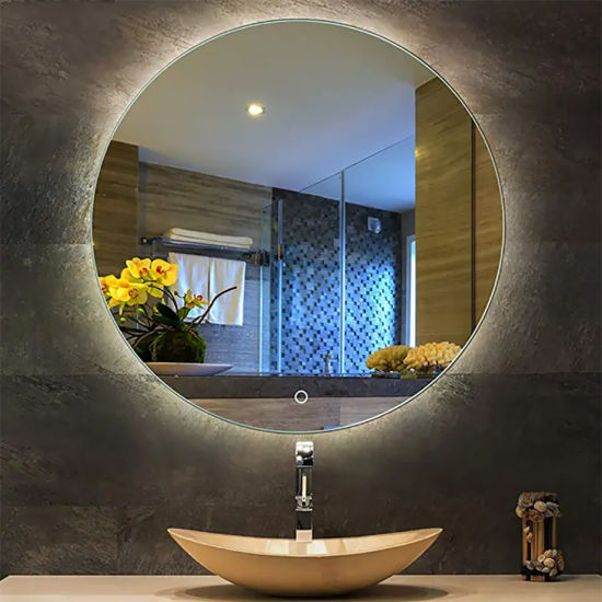 China Factory Led Illuminated Bathroom, Bathroom Mirrors And Lighting
