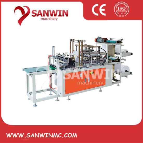 Fully Automatic 2 Layer Plastic Glove Making Machine