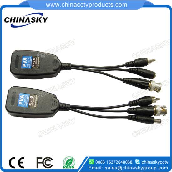 1 Channel Passive Video/Audio/Power Over Cat5 CCTV Balun (PVA22H)