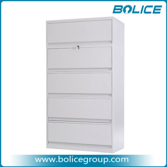 5 Drawers Office Metal Lateral Filing Cabinet pictures & photos