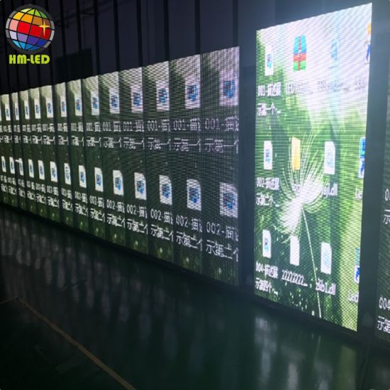 Indoor Building Facade Glass Wall Transparent LED Display Screen