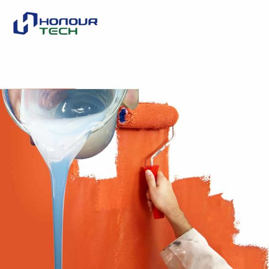 Interior and Exterior Acrylic Wall Paint Polymer Binder