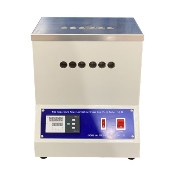 China Astm D2265 Petroleum Products Lubricating Grease Dropping Point Tester China Grease Drop Point Tester Lube Oil Drop Point Analyzer