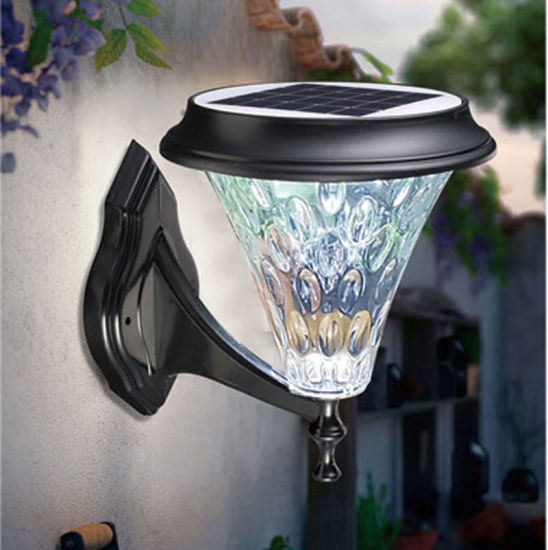 Outdoor Decoration Economical Top Quality Hot Sale Waterproof Solar Wall Light