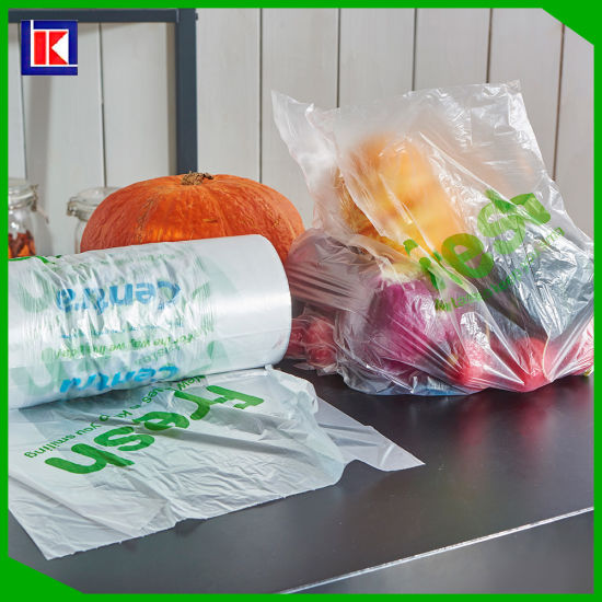 Eco Friendly Food Bags And Plastic Produce On Roll
