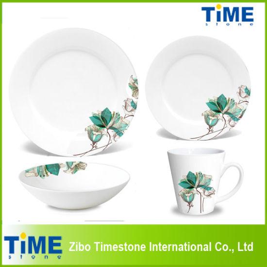 16PCS Design Your Own Porcelain Dinnerware Wholesale