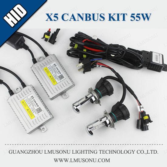 X5 H4 Canbus HID Kit Xenon 55W