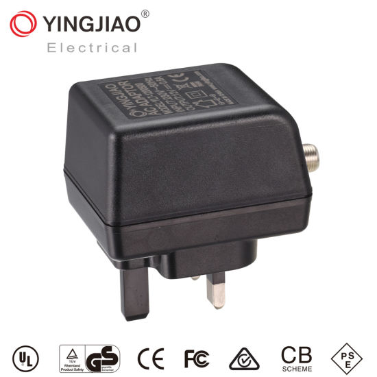 Manufacturers 3-7W AC or DC UK Plug Linear Power Adapters
