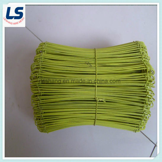 Colorful PVC-Coated Wire Sack Ties