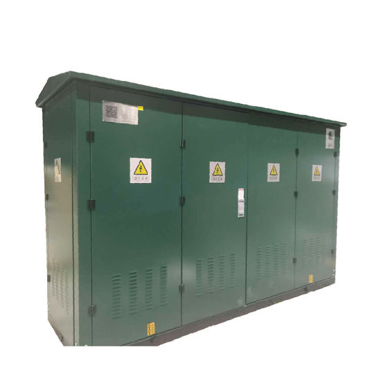 Free Standing 12kV Medium Voltage Outdoor Gas Insulated Ring Main Unit