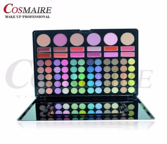 78 Color Eyeshadow & Lip Color & Blush for Cosmetic pictures & photos