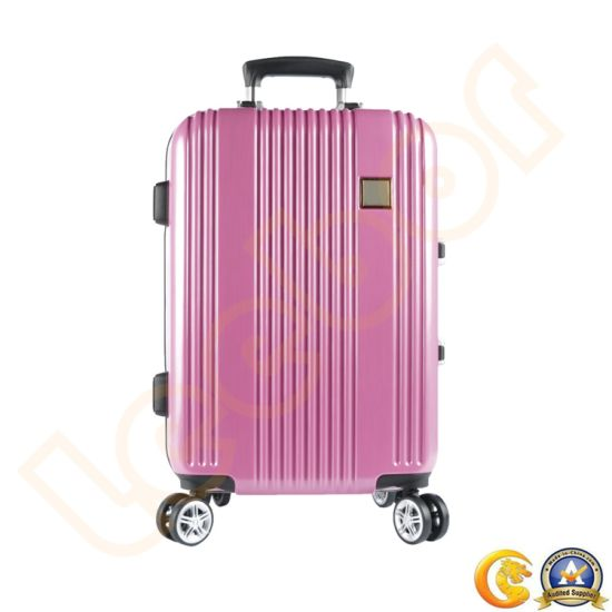 e58e9d02d Hot Sale Wheels Travel Luggage Aluminum Travelling Business Trolley Suitcase