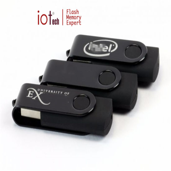 Hot Selling Custom Logo Cheapest Swivel USB Flash Drive pictures & photos