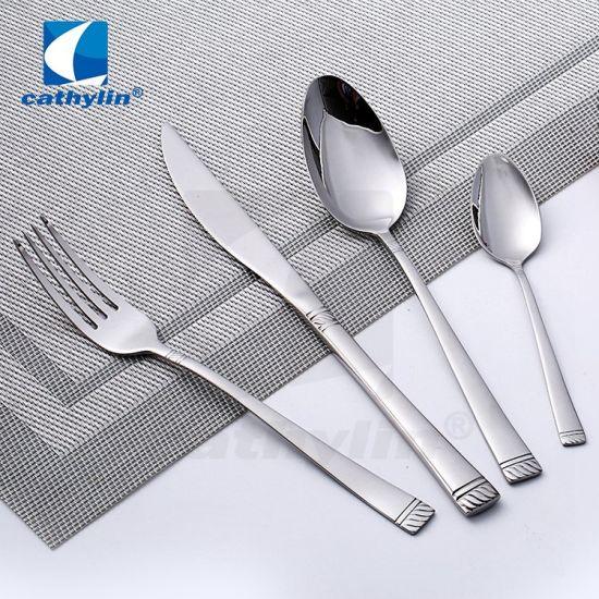 Polishing 18/10 Stainless Hotel Flatware, Restaurant Cutlery